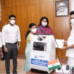 Martin Group donates Rs.3 crore worth of COVID- 19 relief materials