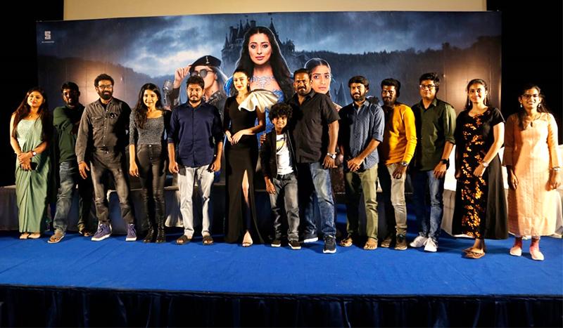 Actress Raai Laxmi Speech @ Cinderella Tamil Movie Press Meet