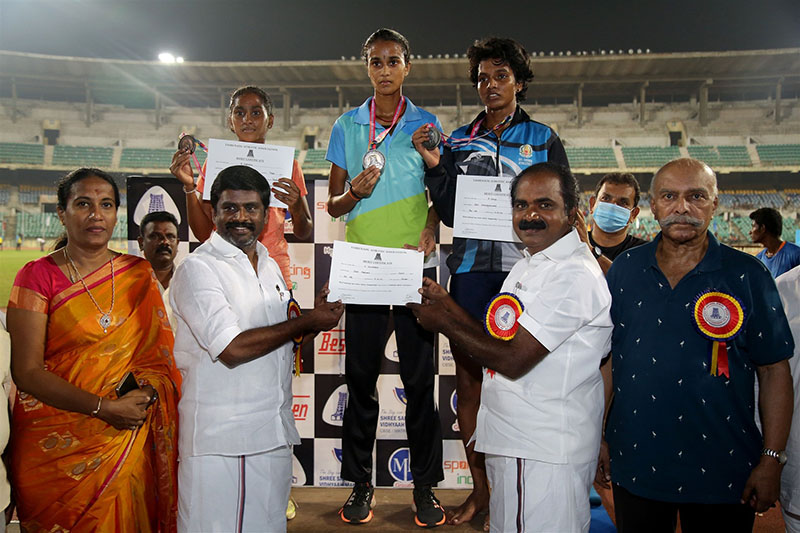 93rd Tamilnadu State Senior Athletic championships – 2021 inaugurated by Minister Thiru.SIVA M. MEYYANATHAN at Jawaharlal Nehru Stadium to be held from 15th to 17th October 2021
